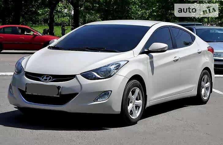 Hyundai Elantra 2011 года в Николаеве