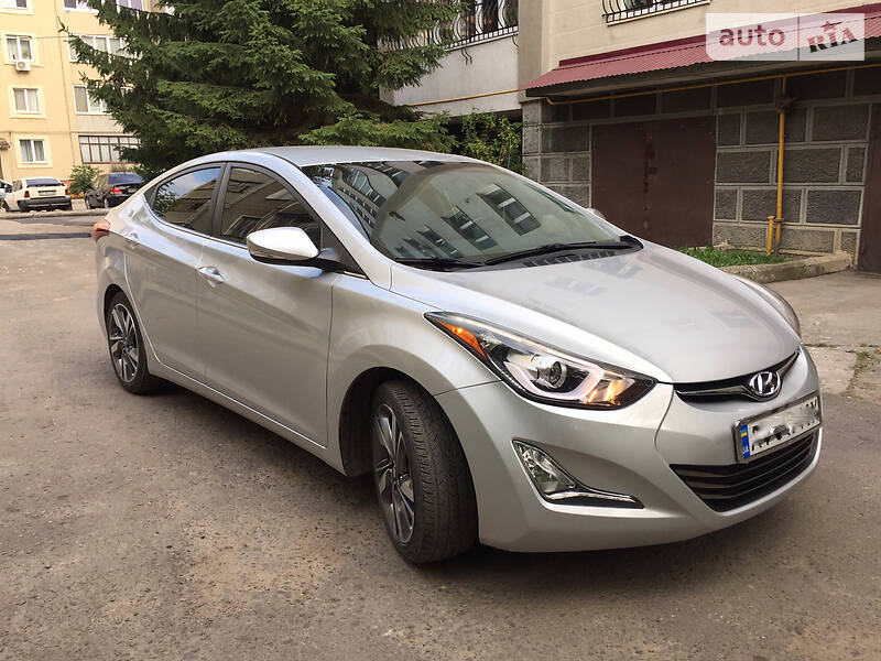Hyundai Elantra 2014 в Ивано-Франковске