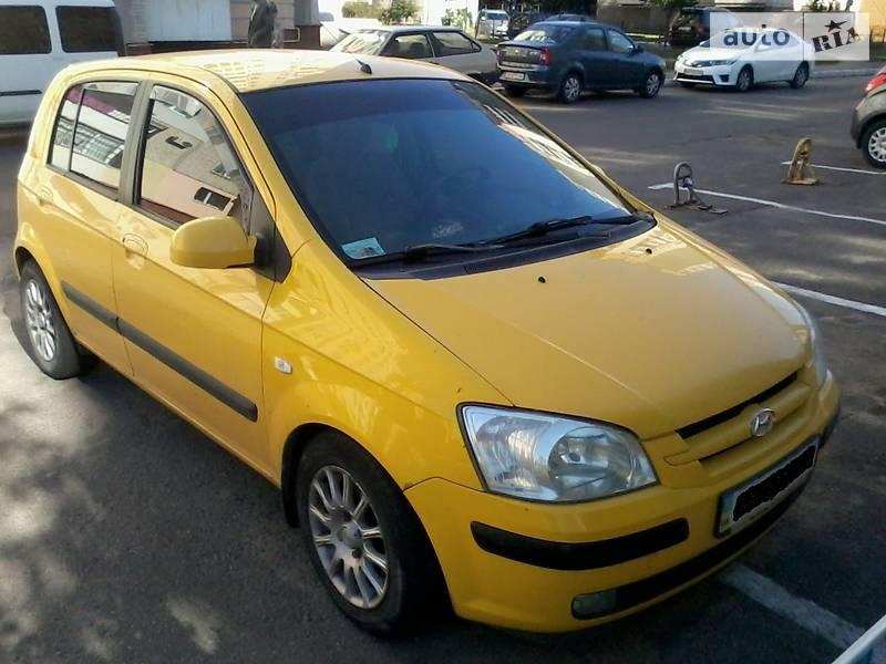 Hyundai Getz 2006 в Виннице