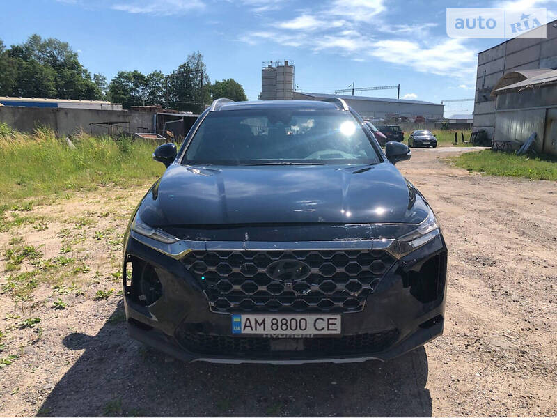 Hyundai Santa FE BlackBrown