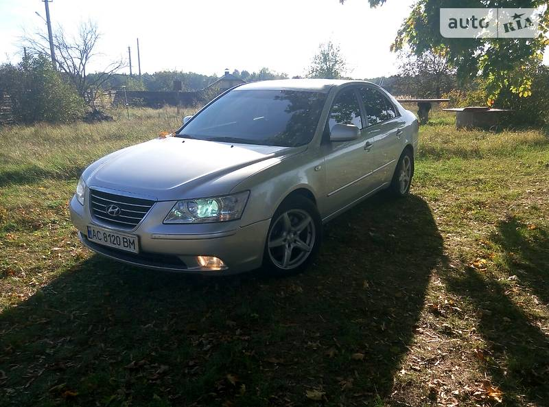 Hyundai Sonata 2008 в Владимир-Волынском