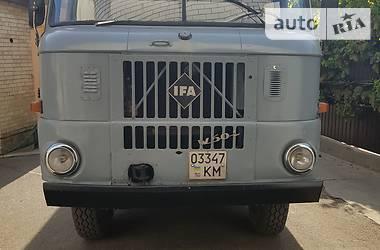 IFA (ИФА) W50 1989 в Киеве
