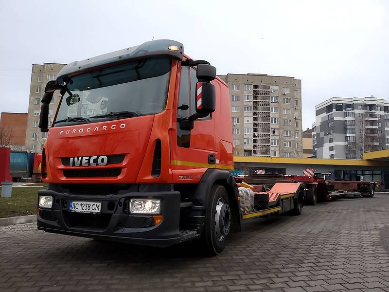 Iveco EuroCargo 2015 в Луцке