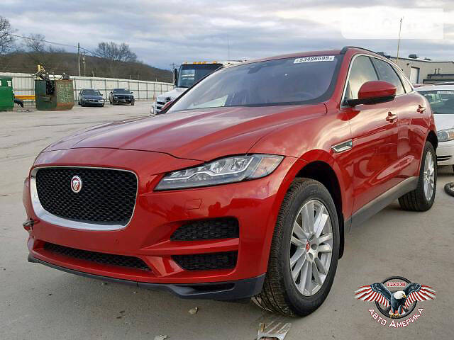Jaguar F-Pace 2017 года в Харькове