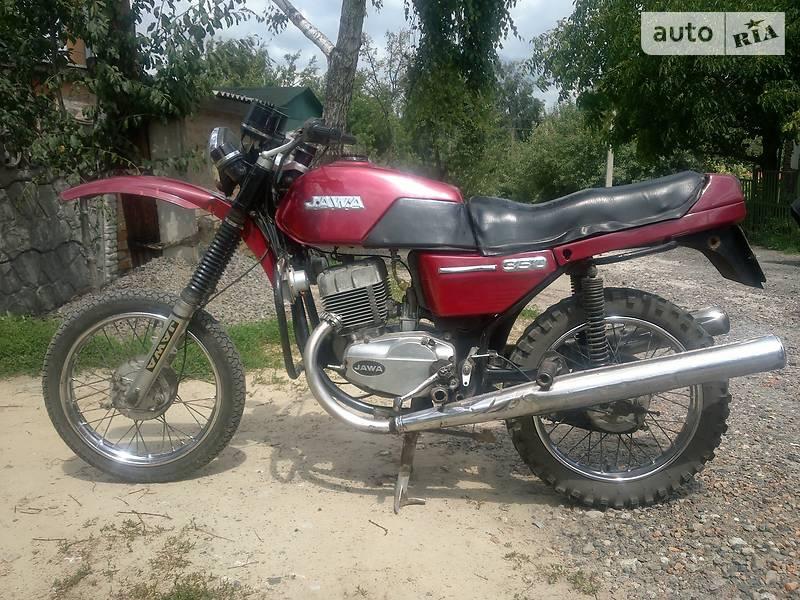 Jawa (ЯВА) 638 1985 в Ромнах
