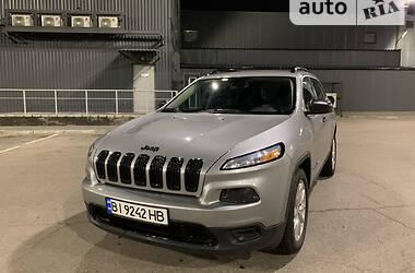 Внедорожник / Кроссовер Jeep Cherokee 2017 в Кременчуге