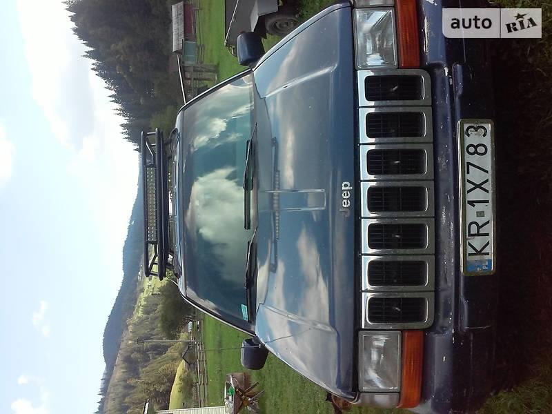 Jeep Grand Cherokee 1996 в Верховине