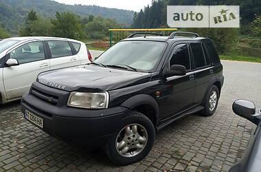 Позашляховик / Кросовер Land Rover Freelander 2001 в Бориславі
