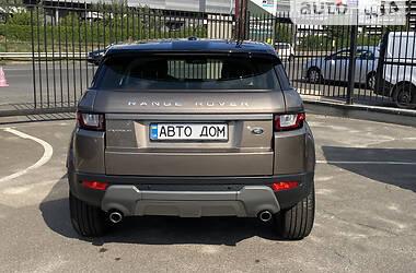 Внедорожник / Кроссовер Land Rover Range Rover Evoque 2016 в Киеве