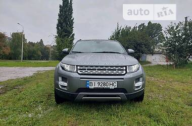 Внедорожник / Кроссовер Land Rover Range Rover Evoque 2014 в Кременчуге