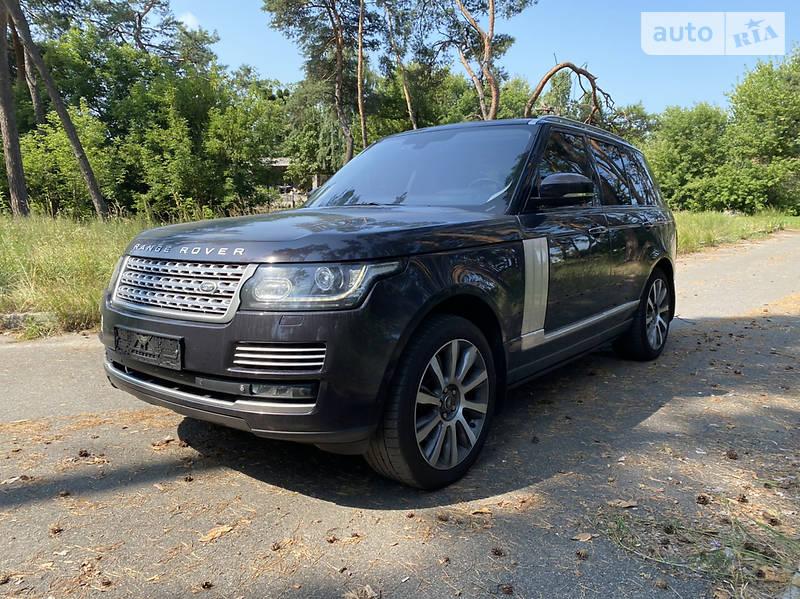 Внедорожник / Кроссовер Land Rover Range Rover 2013 в Киеве