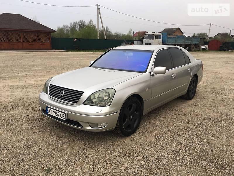 Lexus LS 430 2002 в Ивано-Франковске
