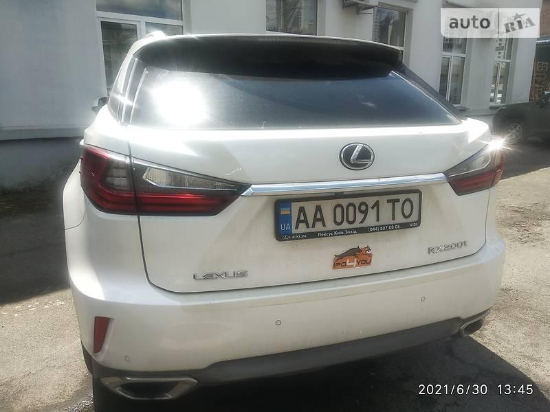 Позашляховик / Кросовер Lexus RX 200t 2017 в Києві