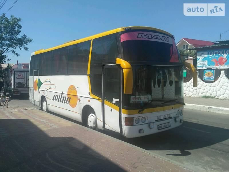 Туристичний / Міжміський автобус MAN 11.230 1993 в Полтаві