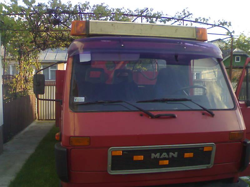 MAN 8.150 груз. 1992 в Івано-Франківську