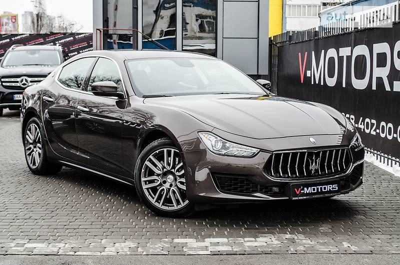 Maserati Ghibli 2018 года