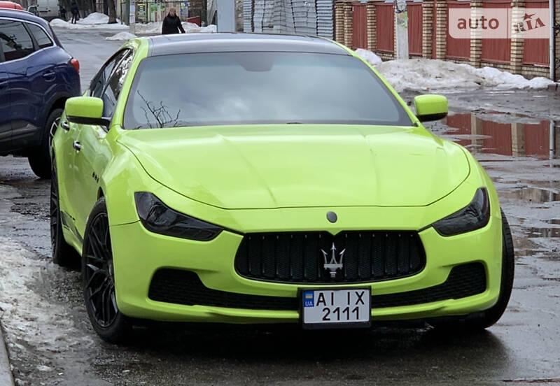 Седан Maserati Ghibli 2016 в Києві
