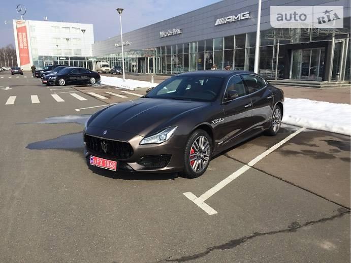 Maserati Quattroporte 2018 года