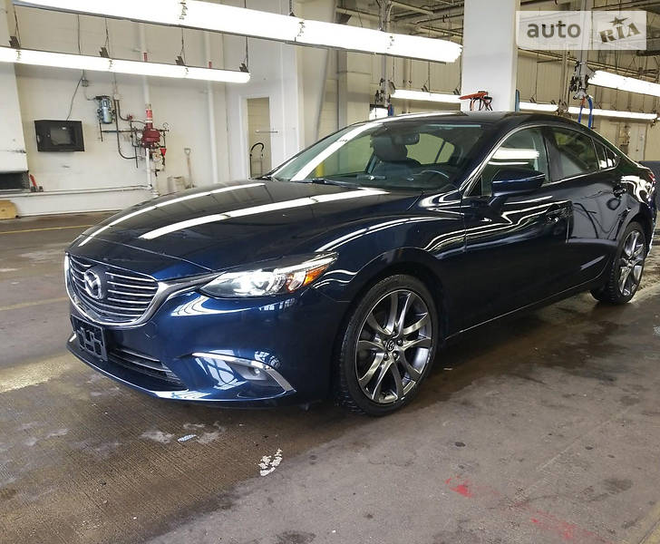 Mazda 6 2016 года