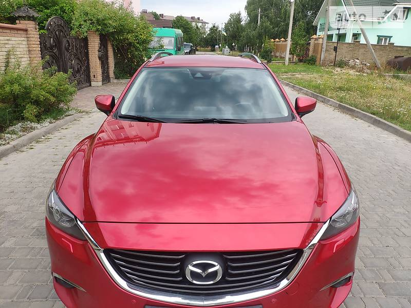 Mazda 6 4X4 EUROPA