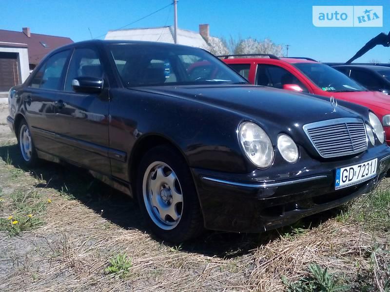 Mercedes-Benz 210 2002 в Рожище