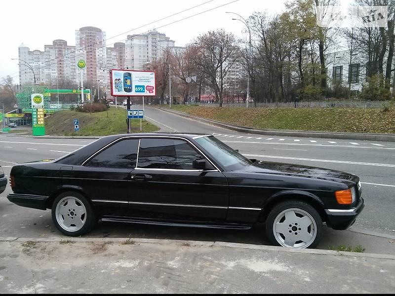 Mercedes-Benz 560 1989 в Києві
