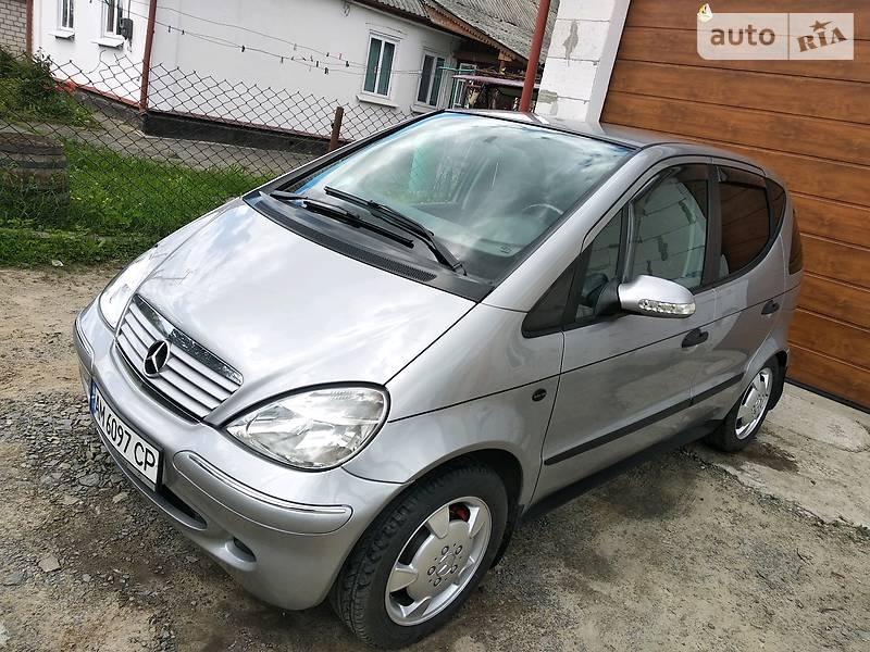 Хэтчбек Mercedes-Benz A 140 1999 в Новограде-Волынском