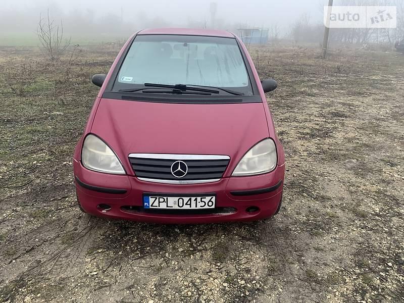 Mercedes-Benz A 170 1999 в Зборове