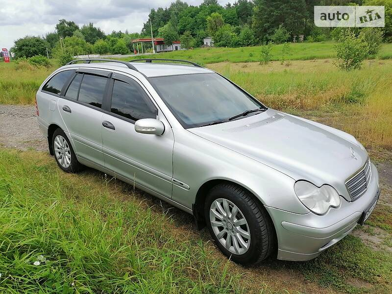 Унiверсал Mercedes-Benz C 200 2002 в Глухові