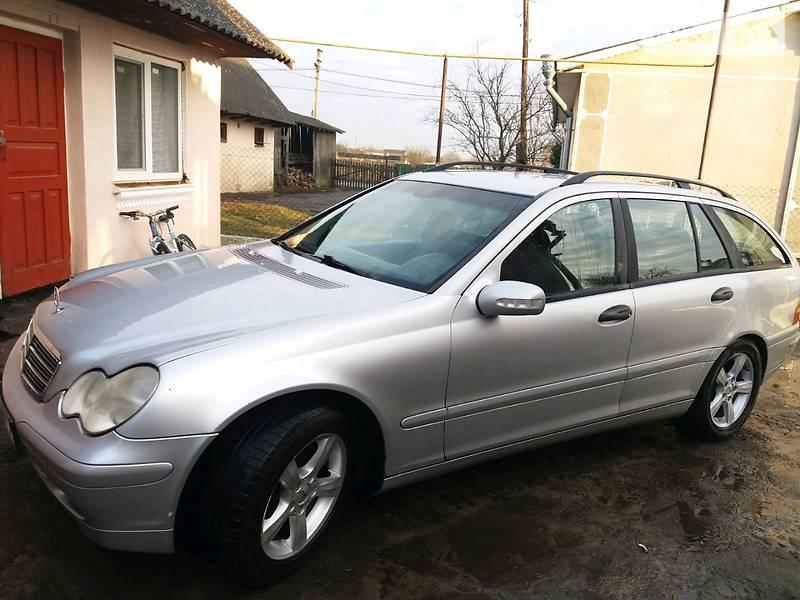 Mercedes-Benz C 220 2001 в Луцке
