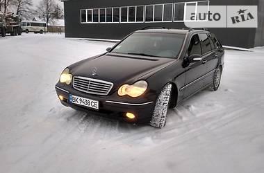 Mercedes-Benz C 270 2001 в Рокитном