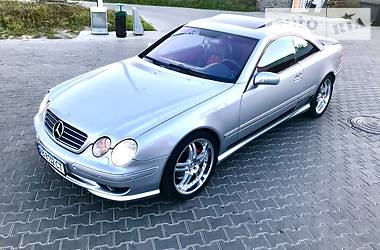Mercedes-Benz CL 55 AMG 2001
