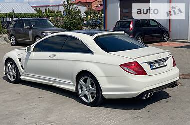 Купе Mercedes-Benz CL 550 2008 в Львове