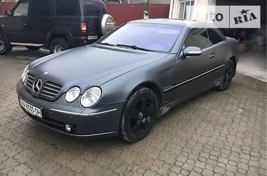 Mercedes-Benz CL 600 2002 в Львове