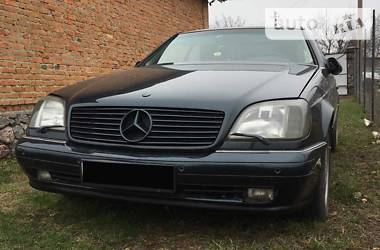 Mercedes-Benz CL 600 1996 в Полтаве