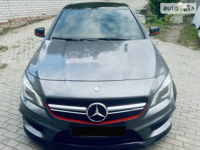 Седан Mercedes-Benz CLA 45 AMG 2014 в Дніпрі