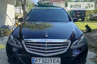 Mercedes-Benz E 200 2014 в Косове
