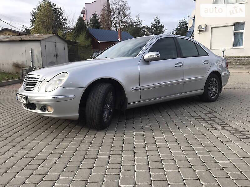 Mercedes-Benz E 240 2003 в Ивано-Франковске