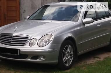 Mercedes-Benz E 270 2004 в Черновцах