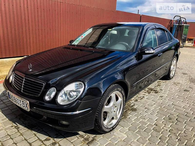 Mercedes-Benz E 270 2005 в Івано-Франківську