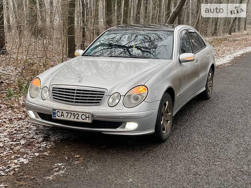 Mercedes-Benz E 270 2003 в Монастырище