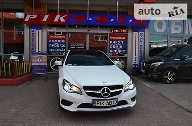 Купе Mercedes-Benz E 400 2014 в Львове