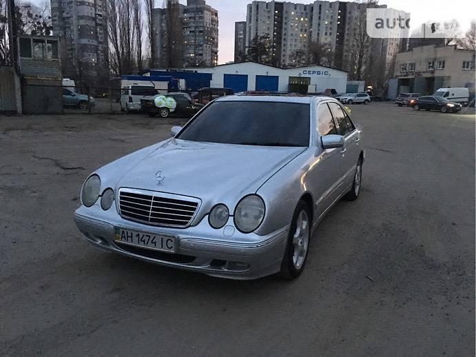 Mercedes-Benz E 430 2001 в Киеве