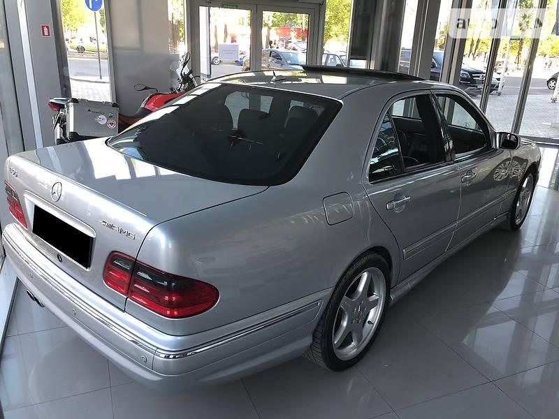 Mercedes-Benz E 500 2000 в Харькове