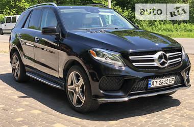 Внедорожник / Кроссовер Mercedes-Benz GLE 400 2015 в Коломые