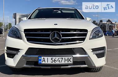 Внедорожник / Кроссовер Mercedes-Benz ML 250 2012 в Киеве