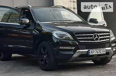 Внедорожник / Кроссовер Mercedes-Benz ML 250 2014 в Запорожье