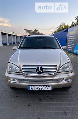 Хэтчбек Mercedes-Benz ML 270 2002 в Коломые