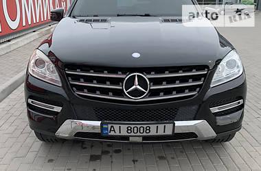 Внедорожник / Кроссовер Mercedes-Benz ML 350 2015 в Киеве