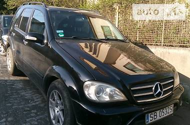 Mercedes-Benz ML 400 2002